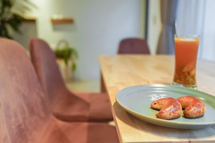 |花蓮市區甜點|A-Paul的小廚房-巨無霸水果派與特色彎月餅