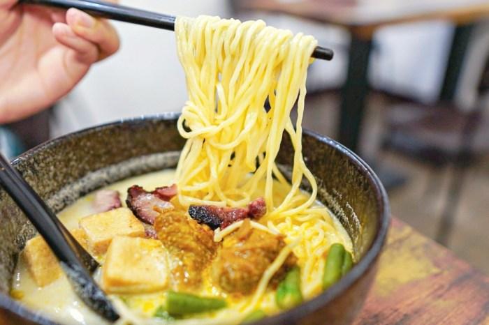  花蓮美食 小檳城特色南洋麵食-特色現煮白咖哩麵