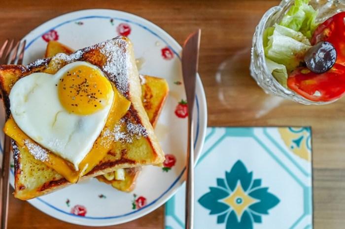 |花蓮美崙早午餐|敖早。早午餐-值得一試的法式厚片吐司