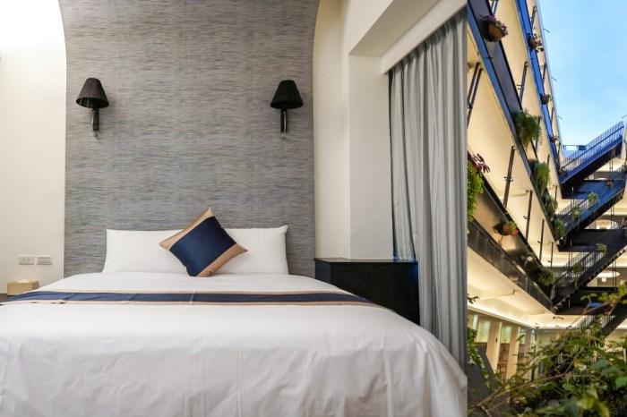  台東市區住宿 路得行旅國際青年旅館 台東館-陽光天井的平價青旅 獨立房型好自在