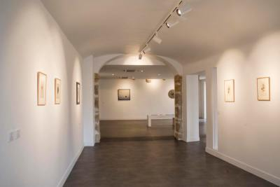 Vue de l'exposition Léon Tutundjian à la Fondation Bullukian, 2019