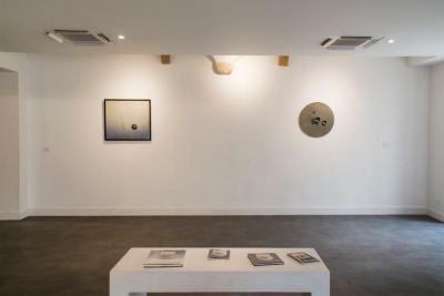 Vue de l'exposition Léon Tutundjian à la Fondation Bullukian, 2019.