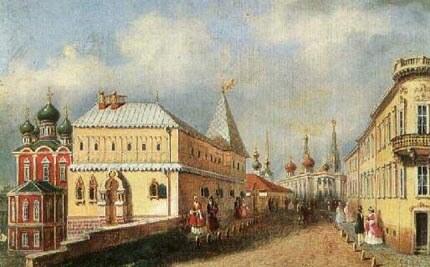 Зарядье 19 века Москва