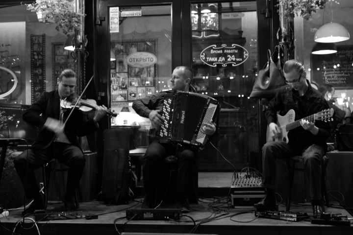 Живая музыка в Москве