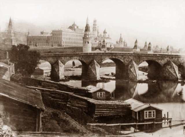 Большой Каменный мост, 1857 год