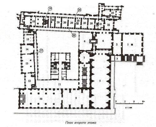 Схема Большого Кремлёвского Дворца