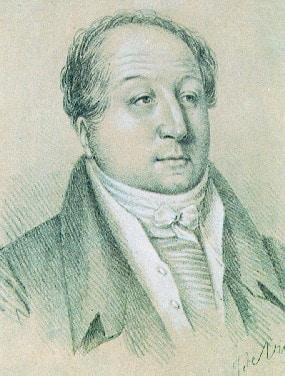 Портрет работы Ж. Вивьена, около 1823 года