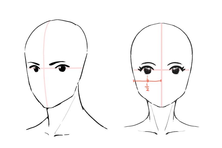 簡単顔の描き方5