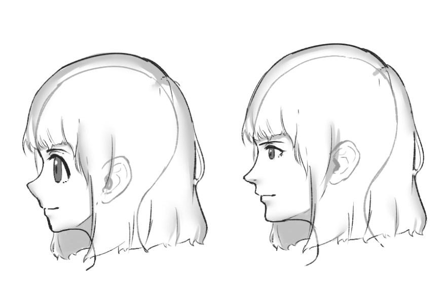 カワイイ顔の描き方3
