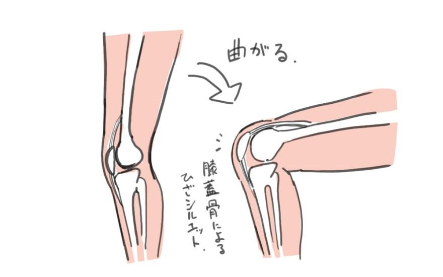 脚の描き方 4