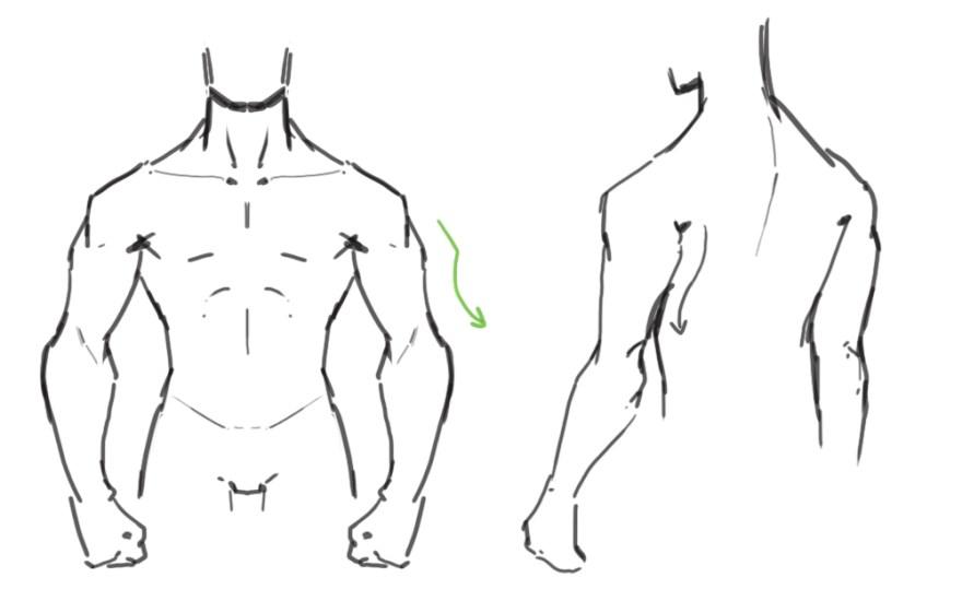 腕の描き方6
