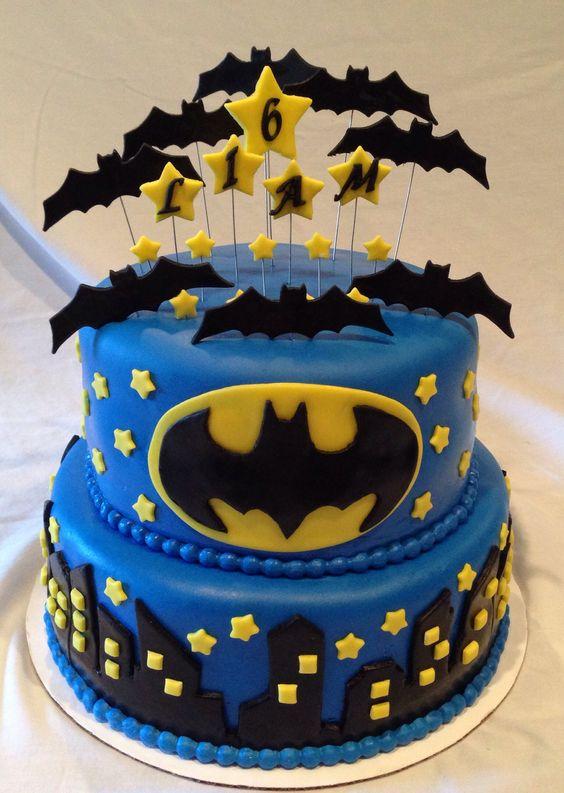 Pasteles Para Fiesta De Batman 8 Decoracion De Fiestas