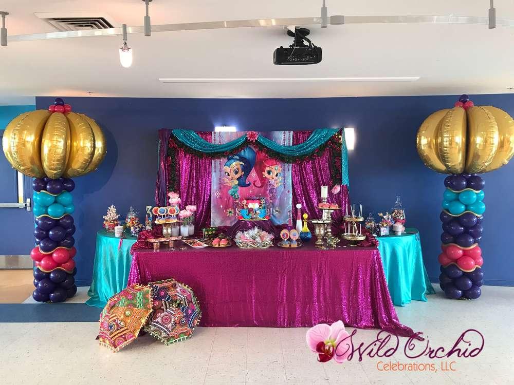 Birthday Decorations Mantel