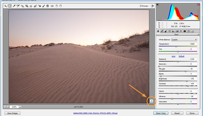 Adobe Camera RAW 7 Photoshop CS6 Tutorial for Photographers