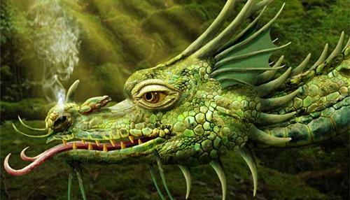 Photoshop Tutorial - Making of a Realistic Dragon | Tutvid.com