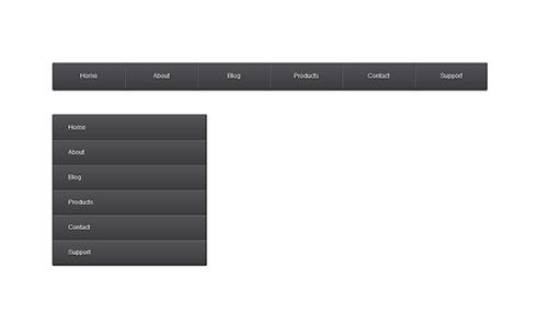 Create An Elegant CSS3 Navigation Menu | Tutvid.com