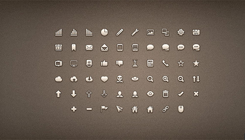 25 Sets Of Clean Icons For Perfect Minimal Web Design | Tutvid.com