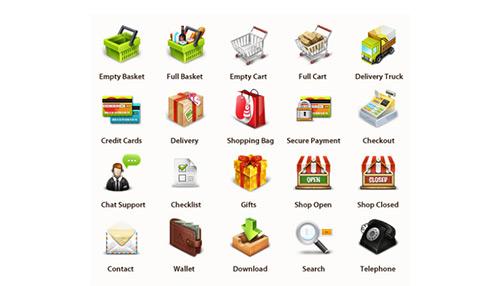 Freebie: Professional E-Commerce Icons Set (20 Icons)