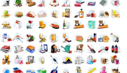 E-Shop Icon Set