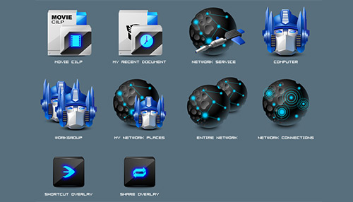 Icons for Transformers