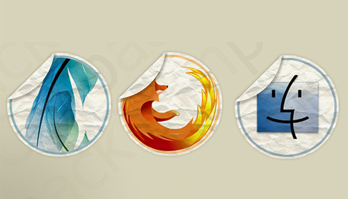 iConPack Social Media Icons PSD