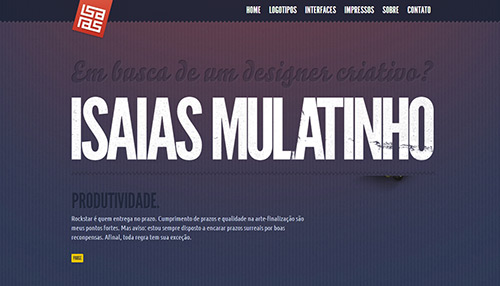 30 Website Designs with Big Typography