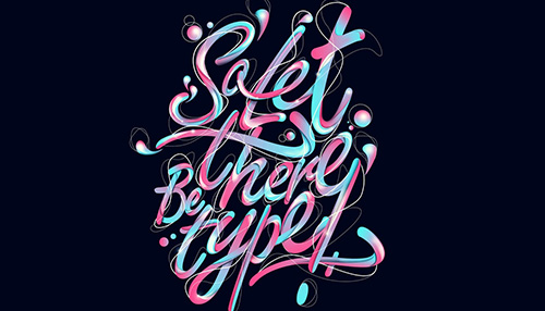 28 Examples of Gourgeous Script Typography