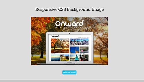 A Responsive CSS Background Image Technique