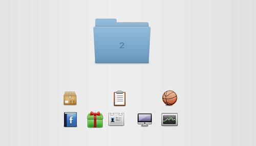 How to Make a Mac OSX-like Animated Folder with CSS3