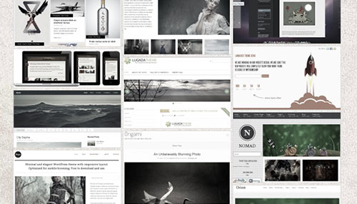 Best Of 2012: 50 Free WordPress Themes