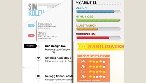 Creating A Visually Engaging Design Resume