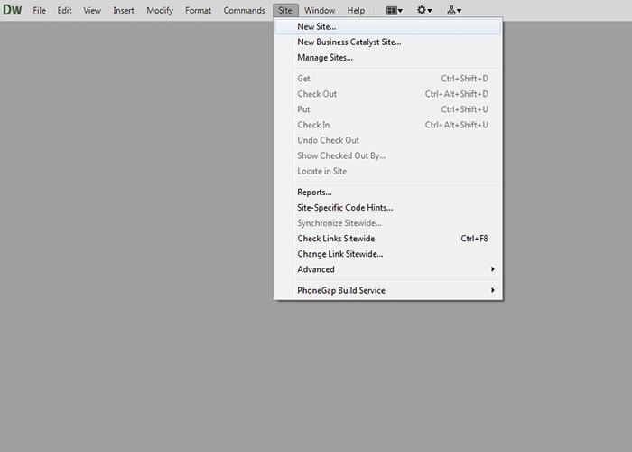 Define Local Root Folder | Dreamweaver CS6 Tutorial