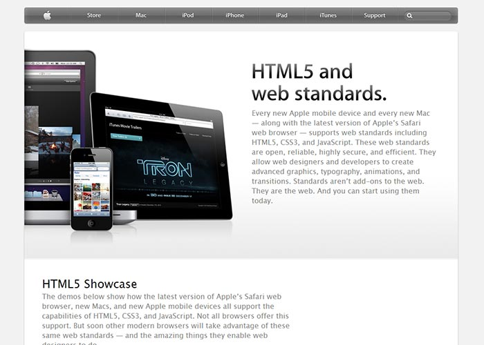 28. Apple: HTML5 And Web Standards