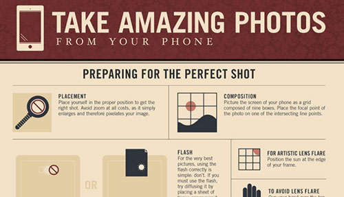 Infographic: Take Amazing Photos From Your Phone