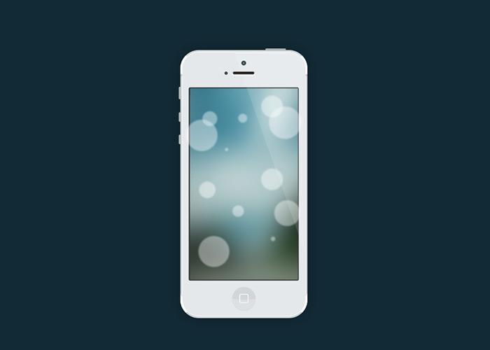 iOS7 Interface - Photoshop CS6 Tutorial