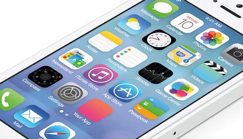 iOS 7 Home Screen – Free PSD Mock-up