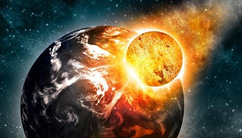 Create a Massive Planet Collision Scene