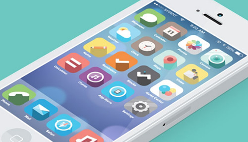 Not sure that I like a single one of these - 25 Designers Show How iOS7 Should Have Looked