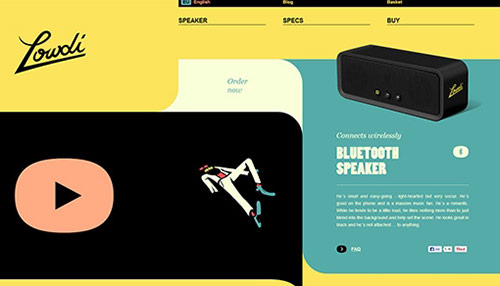 40+ Excellent Examples of Flat Website Design