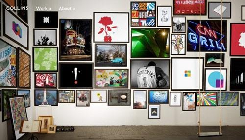 25 New Minimalist Web Designs with Big Background Photos