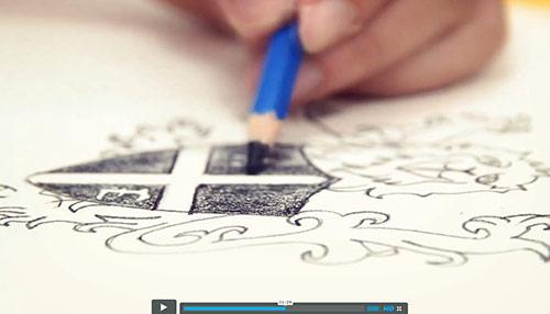 WATCH: Logo Design Process | Allan England Photography