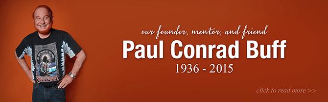 Paul C. Buff died this week