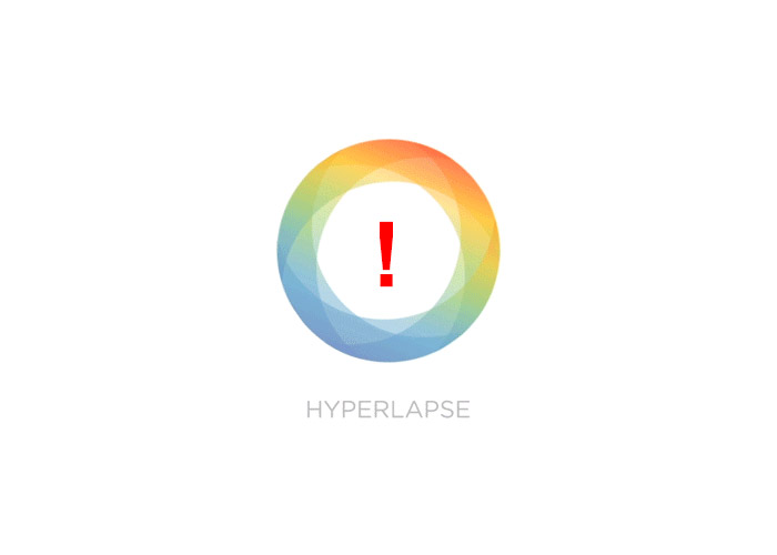 Hyperlapse to complete with Hyperlapse
