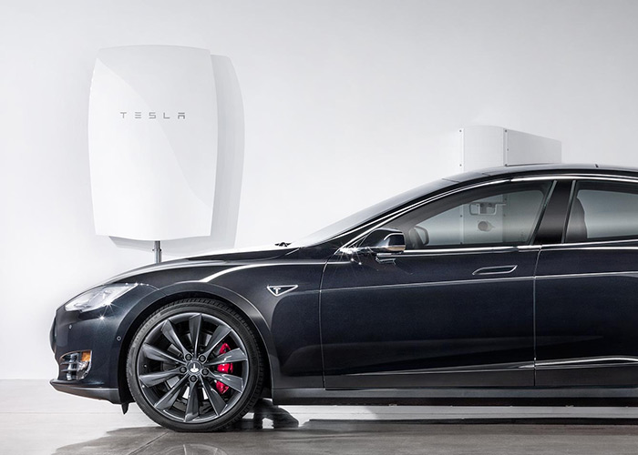 Tesla's amazing new home battery system just debuted. The Tesla Powerwall