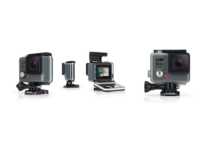 GoPro unveils a new Hero+ LCD