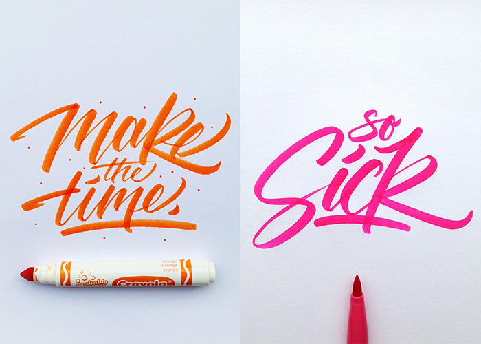 The best calligraphy and lettering examples