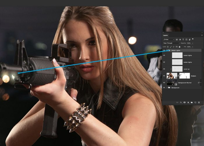 10-girl-with-gun-image-composite-photoshop-tutorial