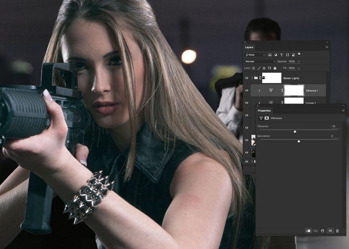 13-girl-with-gun-image-composite-photoshop-tutorial