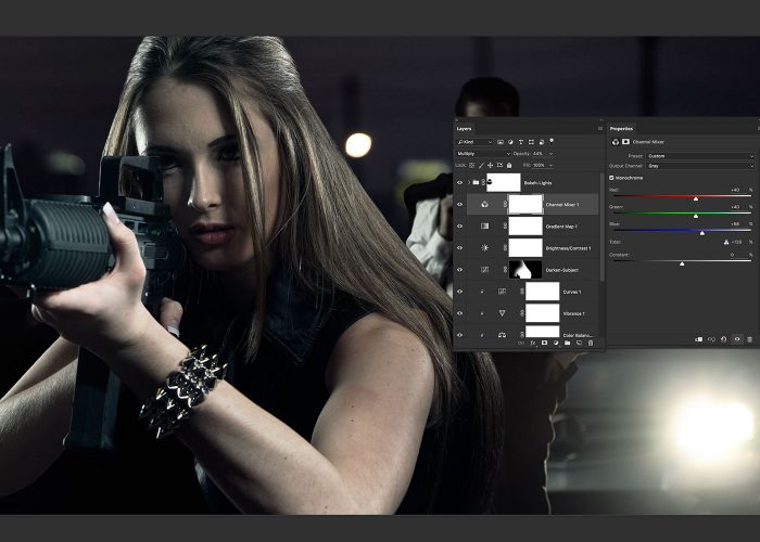 16-girl-with-gun-image-composite-photoshop-tutorial