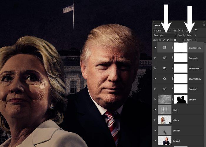 08-hillary-v-trump-poster-photoshop-tutorial